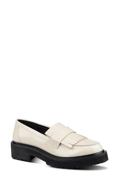 Nine West 'Account' Kiltie Fringe Loafer (Women) available at #Nordstrom