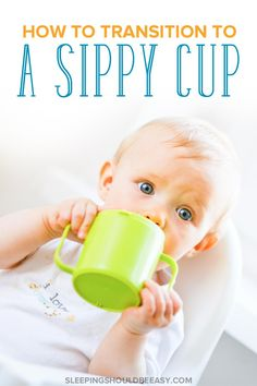 Looking for ways to transition to a sippy cup? These 7 easy ways show you how to help your child. Plus learn what age to start a sippy cup and more! Even includes a food tracker printableat no cost to you! Breastfeeding Help, Breastfeeding Positions, Transitioning To Sippy Cup, Overwhelmed Mom, Baby Hacks, Baby Tips, Baby Ideas, Infant Activities, Family Activities