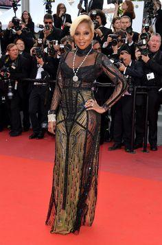 Mary J. Blige en Reem Acra