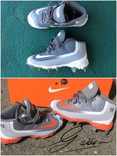 Esto spike listo para el juego de #baseball  Si quieres un Custom ó Restauración #Gsöm lo hace posible.  #Gsöm #kickmakeover #kickstagram #cruzdaytuesday #customizerdepot #kixifylife #sneakercon #slhheat #sol3shoot3rs #TeamCoquiSneakerHeads #Underrated_sneakerheads #TeamCallejeros #Viewmykicks  #nicekicks #solecollector #aceofcustom #sneakershouts  #angelusdirect #viewmykicks #sneakersmag #deadstocksnkrblog #aceofcustoms #custom  #nike #baseball #deportes #pelota #sport #yonomequito