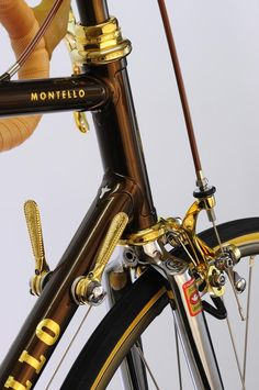 Pinarello Gold. Vintage Luxury Bicycles by Mr Pochez