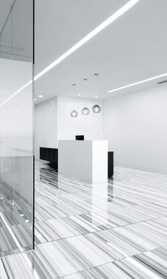 I love this marble.  I would use it on every project if I could.   AAI | AAA Club HQ in Emeryville, CA