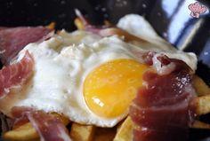 Perolito de Patatas, Huevos y Jamón Ibérico