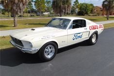 Mustang Cobra Jet, Ford Mustang 1967, Ford Mustang Shelby Gt500, Vintage Mustang, Barrett Jackson Auction, Train Car, Drag Cars, American Muscle Cars, Collector Cars