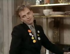 Rik Mayall will always be one of my favorite actor/comedians....love love love!