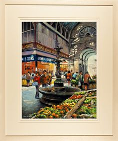 English Market, Cork 597 Cork City, Queen Of England, City Council, Fine Art Paper, Ireland, Foundation, Old Things, English, Paintings