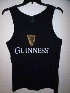 SALE! Menscave7 NEW GUINNESS BEER SLEEVELESS TANK TOP MENS M XL BLACK #Guinness #TankTop #mensfashion #menswear