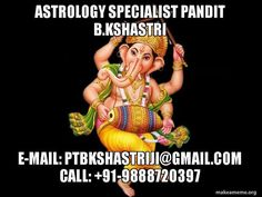 Get get help for your Astrology and Vastu related issues from Astrologer B.K. Shastri Call: 91-9888720397 #Astrologerspecialist #BKShastri