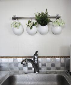 Kitchen Backsplash Contact Paper diy: vinyl tiled backsplash | vinyls, pictures of and pictures
