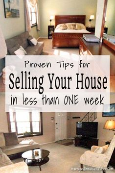How To Quickly Sell Your House Home Hacks Sell Home Fast Sell House Quickly