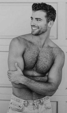 Hairy Hunks, Hairy Men, Scruffy Men, Handsome Guys, Hot Men, Bear Men, Hommes Sexy, Black And White Man, Raining Men
