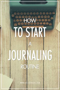 We all could benefit from establishing a journaling routine, but starting can be a daunting task. Read my tips on how to start your own journaling routine.