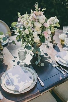 Pride and Prejudice Wedding Inspired Table Decor Photography by Sarah Stephens Photography