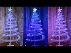 Оригинальная елка из картона своими руками/ DIY Christmas Tree / Как сделать ёлку из картона - YouTube Arts And Crafts, Paper Crafts, Diy Crafts, Make A Snowman, Diy Christmas Tree, Xmas Decorations, Holiday Decor, Plastic Cups, Bedroom Decor