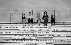 This one moment when you know you're not a sad story. YOU ARE ALIVE. #PerksOfBeingAWallflower