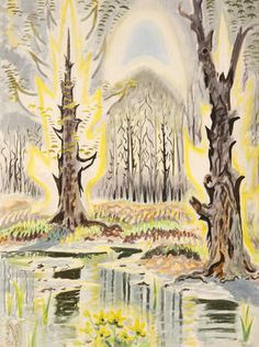 Burchfield, Charles  The Insect Chorus, 1917