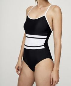 19e8468909 Tall Monochrome Swimsuit at Long Tall Sally. Tall Fashion for tall men and tall  women