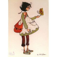 Cartes postales encadrement - Carte Anne Soline Hugoline