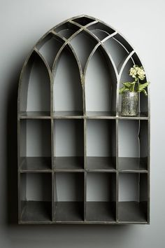 beautiful archway shelf http://rstyle.me/n/v4pimr9te