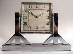 French desk clock, 1920's..........