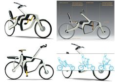 Variable Frame Bike1 - This bicycle is made with comfort and versatility in mind. The bicycle's frame can be changed depending on your needs.