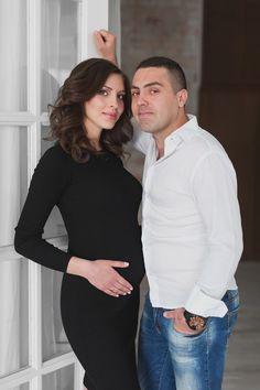 фотосессии для беременных c мужем