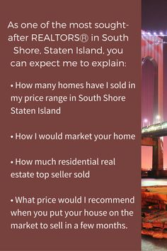 List your home in South Shore Staten Island for 2.75% reduced fee for full service! Call me, #FredHerman, at 718-948-1820! #SouthShoreStatenIslandHomesForSale #TopRealEstateAgentInSouthShoreStatenIsland #FredHerman