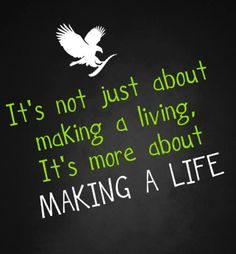 You can make a life with Forever Living. #foreverliving #fun #business #opportunity #worktolivenotlivetowork