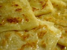 THE VIEW FROM FEZ: Recipe for Msemen (Moroccan square pancake)