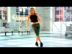 Tracy Anderson - Franco Valiente Challenge Part 1 - YouTube