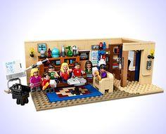 The Big Bang Theory LEGO Set