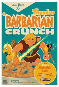 BRIAN MILLER - BARBARIAN CRUNCH