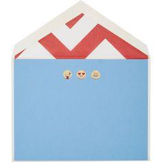 Connor Emoji Stationery at Barneys.com