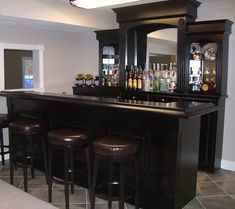 34 Awesome modern home bar designs images