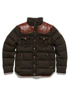99118fe068 Penfield Stapleton Tweed Down Cropped Jacket at Park   Bond ( 200-500) -