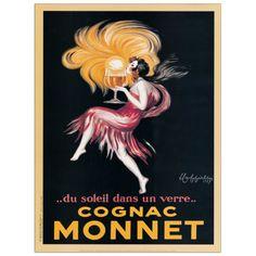 CAPPIELLO - Cognac Monnet 1927 45x60 cm #artprints #interior #design #CAPPIELLO Scopri Descrizione e Prezzo http://www.artopweb.com/autori/leonetto-cappiello/EC20403