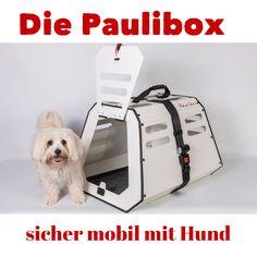 hundebox hundetransportbox sicher mobil mit hund im cabrio hund und cabrio. Black Bedroom Furniture Sets. Home Design Ideas