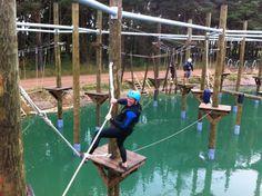 Fix Lake Ropes course