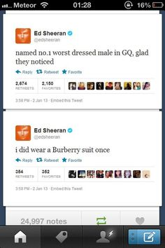 Oh Ed. This is why I love him