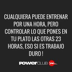 Cuida lo que comes @powerclubpanama Y Tu ? Cuantas Calorias Quemaste Hoy ?