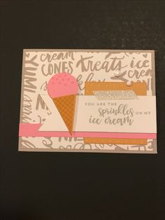 Pixie & Saffron & Whisper & White Daisy...OH MY! The Sugar Rush WYW kit to the rescue along with the Sugar Rush-Scrapbooking stamp set & a little White glitter tape. Who wouldn't want to receive this yummy card?