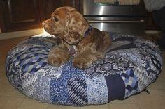 Doggie bed pattern with Dear Stella!