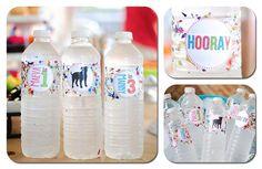 Love this simple DIY idea!  Confetti Birthday Bash via Kara's Party Ideas | Kara'sPartyIdeas.com
