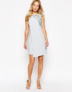 Image 4 ofWhistles Embellishment Sequin Dress