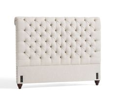 Chesterfield Upholstered Headboard & Storage Platform Bed