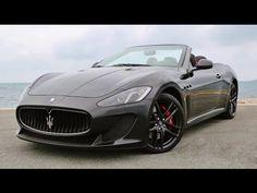 Maserati Grancabrio MC Stradale LOUD Ride! - YouTube
