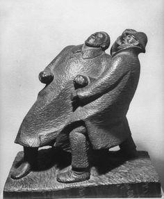 Modern Sculpture, Sculpture Art, Postmodernism, Wood Carving, Modern Art, Terra Cotta, Character Design, Elephant, Museum