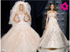 Vestidos de noiva luxuosos
