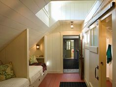 built-in beds - Tour This Barn-Inspired Home - Home Decorating Ideas - Country Living