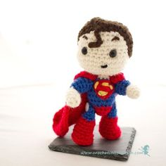 Crochet Stitches, Crochet Patterns, Crochet Ideas, Superman Crochet, Crochet Dolls, Knit Crochet, Some Ideas, Bobble Head, How To Do Nails